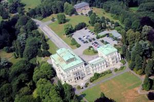 Die Villa Hügel - ehemaliger Wohnsitz der Familie Krupp