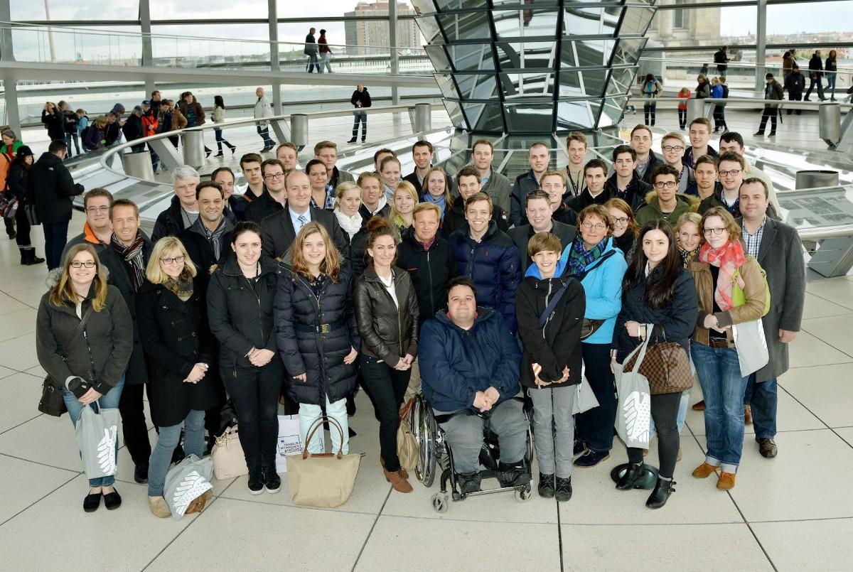 Essener Ju zu Gast im Bundestag