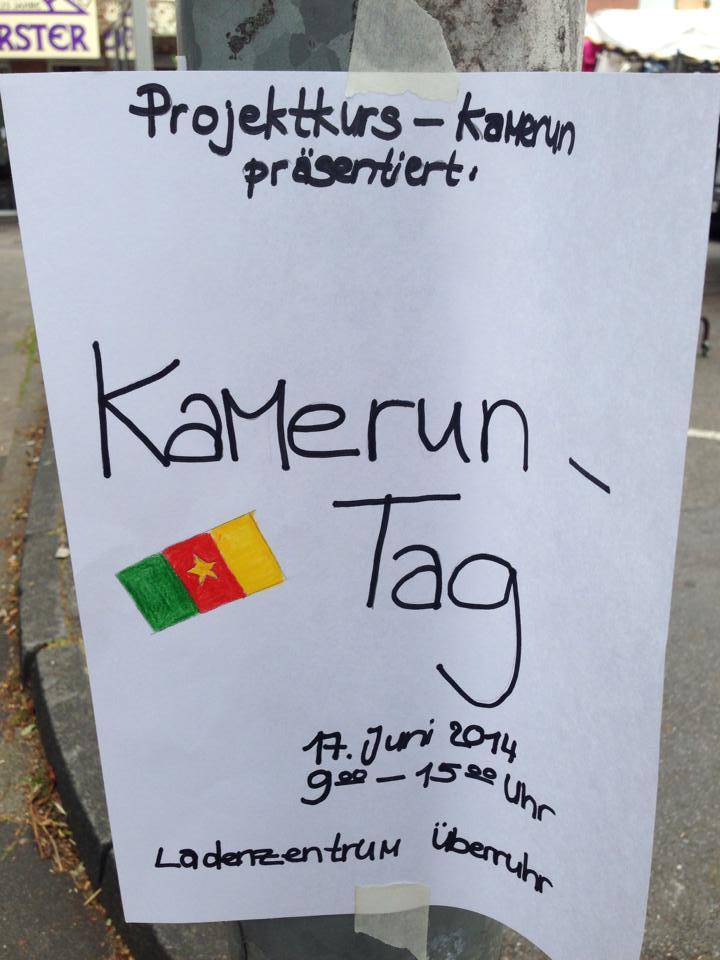 Kameruntag in Essen-Überruhr Plakat