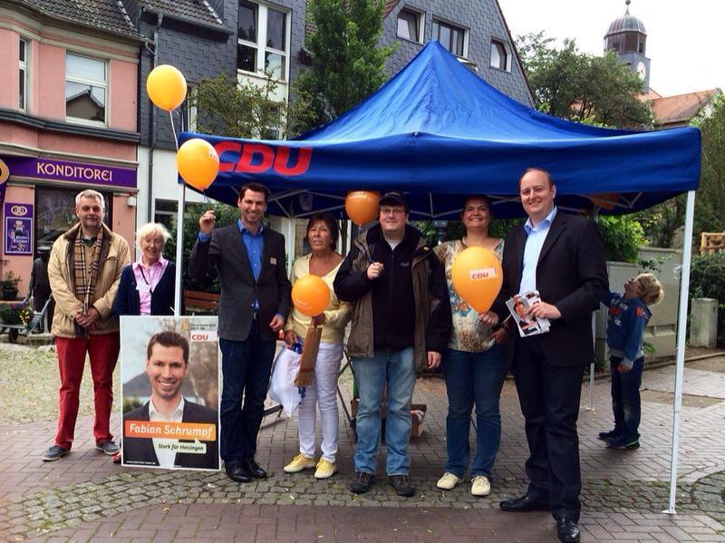 Unterstützung beim Kommunalwahlkampf