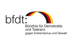 Logo Bündnis für Demokratie und Toleranz
